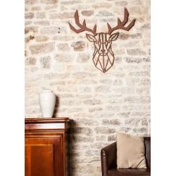 cerf wall art
