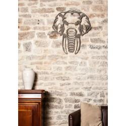 Eléphant Majestueux Wall Art
