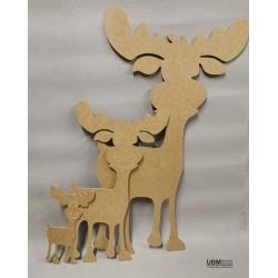 Tonnerre le caribou à décorer