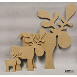 Comète le caribou à décorer