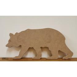 ours à décorer en médium