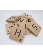 Lettres scrabble